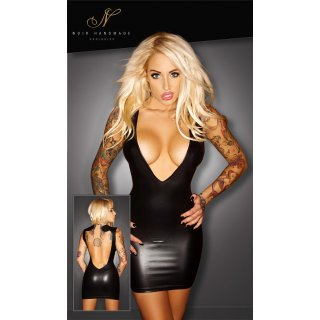 Wetlook-Kleid L
