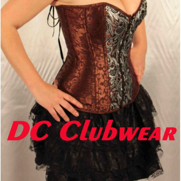Overbust Steampunk Style Corset  L
