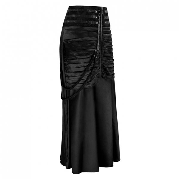 Steampunk Gothic Vintage Satin Rock